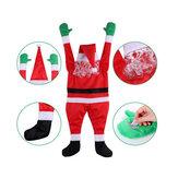 Noel Noel Baba Kolye Dekor Asılı Büyük Santa Giysileri Noel Mutlu Yeni Yıl Kapı Pencere Araba Dekorasyon