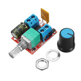 3 Adet 5V-30V DC PWM Hız Kontrol Cihazı Mini Elektrik Motor Kontrol Anahtarı LED Dimmer Modülü