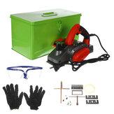 220V 1680W / 1100W Elektrikli Planya Ağaç İşleme Kesme Makinesi Masif Ağaç Makinesi Kesme