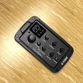 Querubim GB-1 3-Band EQ Equalizador Preamp Captador Para Guitarra Acústica