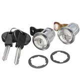 2 Pcs Lockcraft Door Lock Cylinder 2 Keys Set for Citroen Berlingo Peugeot Partner