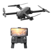 1906 5G WIFI FPV GPS With 4K HD ESC Dual Camera Optical Flow Visual Positioning Foldable RC Drone Quadopter RTF