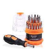 HILDA 31 in 1 Magnetic Screwdrivers Set High-hardness Disassemble Mobile Phone Repair tool DIY Multi-used Screw Driver Kit