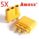 5 Pairs Amass MR30PB Connector Plug Female & Male