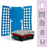 Roupas fáceis de pasta velocidade flip-calças toalha dobrar bordo dobra magia