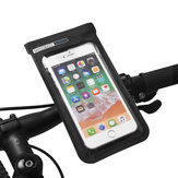 Waterproof Bicycle Handlebar Front Bag For 6.0inch Touch Screen Phone Holder Pouch
