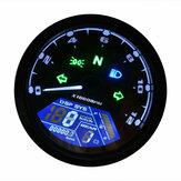 12000 об / мин мотоцикл LCD цифровой спидометр тахометр одометр кафе гонщик Мотор