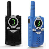2 sztuki Long Rangee Max 10 KM Walkie Talkie Radio Interphone Handheld Child Gift Toy