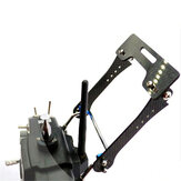Transmitter Support Holder Mount Foldable Monitor Bracket for Futaba Radiolink JR Frsky Transmitter