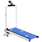 LED multifunzione Display Mini tapis roulant pieghevole Idoneità Home Sport Antiscivolo Running Cintura Running Machine