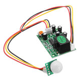 DC 12V 50uA 3-Wire Human Body Induction PIR IR Pyroelectric Infrared Sensor Module Relay Control Out