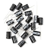 20PCS 470UF 25V Electrolytic Capacitor 25V470UF 8X12MM