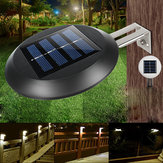 2 pcs 9 LED Solar Powered Wall Mounted Cahaya Tahan Air Luar Taman Landscape