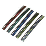 300Pcs 5 Colors 60 Each 0805 LED Diode Assortment SMD LED Diode Kit Green/RED/White/Blue/Yellow