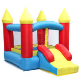 280 * 195 * 185 cm 84 '' Mainan Inflatable Bouncer Air Moonwalk Slide Bouncer Rumah Jumper Anak-anak Bermain Pusat