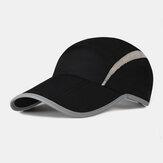 Guarda-sol de verão unissex UV Proteção de secagem rápida dobrável basebol esportivo ao ar livre Chapéu
