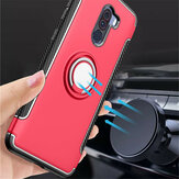 Bakeey™ Shockproof Ultra Thin Back Cover Protective Case with Ring Holder for Xiaomi Pocophone F1
