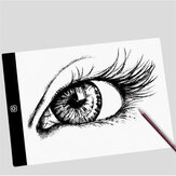 A4 Stepless/Third Gear Dimming luce a led Pad Artist USB Ultra Thin Drawing Board Pad Copy Table Painting Drawing Writing Board