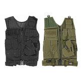 Военный тактический жилет Carrier Пластина Боевая кобура Police Molle Assault Vest