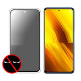 Bakeey 9H Anti-Explosion Anti-Peeping Full Coverage Tempered Glass Screen Protector for POCO X3 NFC