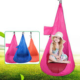 80kg Max Load 60 x 115cm Children Hammock Chair Comfortable Hanging Seat Outdoor Garden Swing Max Load 80kg