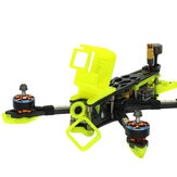 SKYSTARS 228 HDV2 Yellow/Red/Grey 3D Printing TPU Camera Protector 18g Seat Holder for Gopro 7 Camera RC Racing Drone