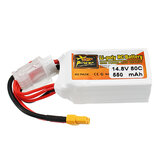 ZOP Power 14.8V 550mAh 80C 4S Lipo Batterie XT30 Stecker