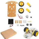 Upgraded 3~9V 2WD Smart Chassis Car DIY Kit  For  with Dual 1:48 TT Motor