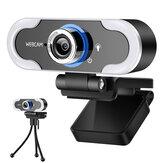 Xiaovv AutoFocus 2K USB Webcam Plug and Play Caméra Web à angle 90 ° avec microphone stéréo pour diffusion en direct Conférence de classe en ligne Compatible avec Windows OS Linux Chrome OS Ubuntu