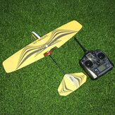 XF Model 480mm Wingspan 2.4GHz 3CH MPP Carbon Fiber Slow Fly Glider Flying Wing Indoor Electric RC Airplane RTF
