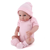 28CM Soft Silicone Realistic Sleeping Reborn Lifelike Newborn Baby Doll Toy with Moveable Head Arms And Legs