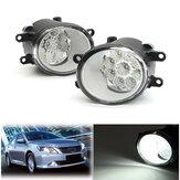 9 LED feu antibrouillard avant avec ampoules 6000K blanc pour Toyota Corolla Camry Highlander Avalon pour Lexus