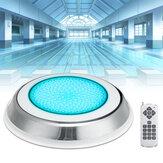 441LED RGB Natación subacuática Piscina Luz IP68 Control remoto Fuente de luz