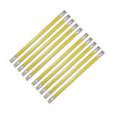 10pcs LUSTREON Pure White High Power 10W COB LED Chip Light DC12-14V for DIY 200x10MM Lamp
