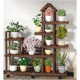 Flor Planta Stand House Design Organizador de Rack de Prateleira de Camadas Múltiplas para Jardim de Casa