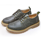Mannen Ademend Leer Outdoor Climbing Oxfords Shoes