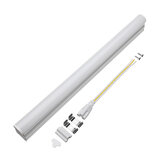 T5 5W 30cm 2000lm SMD 2835 LED Transparent Clear Cover Tube Fluorescent Light Lamp AC220V