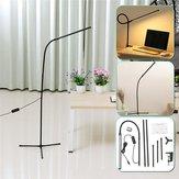 Ajustable LED Piso Lámpara Luz de mesa de escritorio regulable de oficina en el hogar con lectura permanente