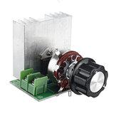 4000W SCR Regulator Tegangan Elektronik Pengatur Kecepatan Papan Kontrol Pengatur Dimmer Modul Daya Tinggi Beban Resistif AC 220V