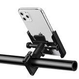 BSDDP Aluminium Fiets Motor Motorfiets Stuur Achteruitkijkspiegel Telefoonhouder Voor Smart Phone 4.0-6.5 Inch Smart Phone voor iPhone SE 2020 Xiaomi Niet-origineel