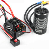 Hobbywing EzRun MAX10-SCT 120A Waterproof Brushless ESC +3660 SL G2 Motor for 1/10 Rc Car Truck