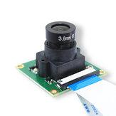Module de caméra 5MP OV5647 caméra grand Angle yeux de poisson 160 ° Focal réglable pour carte de caméra de surveillance de sonnette