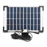 5W Solar Powered Panel Water Pump Fountain Garden Pool Pond Submersible Watering