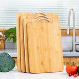 Tagliere in legno Tagliere in bambù da appendere quadrato in bambù Tagliere da cucina addensato