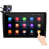iMars 10.1Inch 2Din for Android 8.1 Car Stereo Radio 1+16G IPS 2.5D Touch Screen MP5 Player GPS WIFI FM with Backup Camera