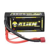 ALIENMODEL 7.4V 3500mAh 100C 2S T Deans Plug Lipo Battery for RC Car