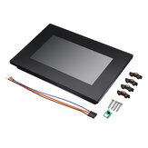 Nextion NX8048K070_011C 7.0 Inch Enhanced HMI Intelligent Smart USART UART Serial TFT LCD Screen Module Display Capacitive Multi-Touch Panel With Enclosure