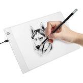 Mesa gráfica A4 LED Mesa de desenho Thin Art Stencil Prancha de desenho leve Caixa Mesa de acompanhamento