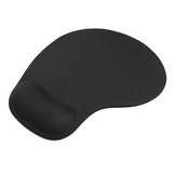 Wrister Mouse Pad Non-slip with Gel Wrist Rest Support Mat Soft Textured Surface For Desktop Laptop