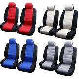 4PCS Universal Capa de assento dianteiro Capa de assento de carro Protetores de almofada lavável